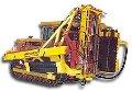 Верстат буровий тракторний БТС-150 призначений для буравлення вибухових вертикальних і похилих (до30°) шпар діаметром 150 мм на глибину до 32 м у скельних породах і шпар діаметром 200 мм на глибину до 11м у м'яких і мерзлих ґрунтах
