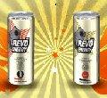 Revo Energy - безалкогольный энергетический напиток с кофеином, таурином...