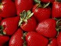 Свежая клубника, ягоды свежие, рассада