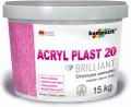 Штукатурка акрилова камешковая «короед»  Acryl Plast 20