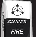 Сканмикс Смесь д/кладки камин,печейt-1200гр.FIRE25кг