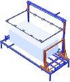 Установка для комплексной резки блоков пенопласта.