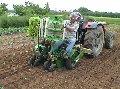 Машины рассадопосадочные: Полуавтоматические рассадопосадочные машины Sfoggia Plantec One