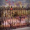 Кованое ограждение, кованые перила, кованые заборы, кованые ворота, кованые решетки.