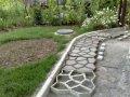Форма-трафарет для садовой дорожки 600*600*60. Формы для садовых дорожек