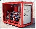 Насосная станция системы пожаротушения тонкоразпыленной водой высокого давления