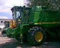 Комбайн зерноуборочный John Deere 9650 клавишный.