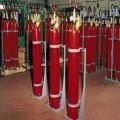 Батарея газового пожаротушенитя МГП 1-80 с ПЭ и УКУМ