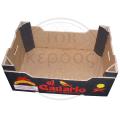 Самосборный усиленный ящик для фруктов и овощей из пятислойного гофрокартона