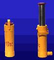 Домкрат гидравлический Д10 ГП-165, грузоподъёмностью 10 тс