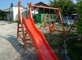 Детская площадка - качеля Дружба + горка спуск 2,5 м.