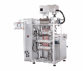 The packing machine of OMAG CS (OMAG CS) with the shnekovy batcher, the automatic machine of pulse action, uses a rolled, termosvarevayemy packing material which is cut on strips according to number of paths