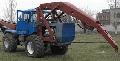 Бурильно-крановая машина БКМ-630 (на базе трактора Т-150К) для бурения вертикальных скважин в не мерзлых грунтах I...III категорий, а также для установки опор ВЛ 0,4…10кВ.