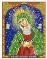 Схема Икона Божией Матери Остробрамская-Виленская