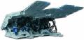 Кріплення механізоване 1КДД, 2КДД агрегатированная, поддерживающе- огороджувального типу, предназначеная для механізації процесів підтримки й керування покрівлею в призабойном просторі лави при відпрацьовуванні пологих шарів потужністю 1,0-2,4 м