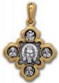 Кресты нательные «Спас Нерукотворный. Казанская икона Божией Матери».