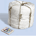 La corde de polypropylène était GOST 30055-93, analogiques TWISTED POLIPROPYLENE CORDES