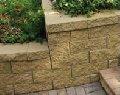 Камень бетонный опорный (террасный) Прямой скол