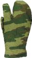 Рукавицы армейские 3-х палые зимние сукно