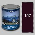 Акриловая автоэмаль Mixon Acryl, Баклажан 107, 1 л