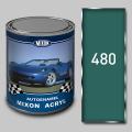 Акриловая автоэмаль Mixon Acryl, Бриз 480, 1 л