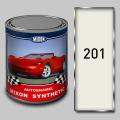 Алкидная автомобильная краска Mixon Synthetic, Белая 201, 1 л