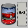 Алкидная автомобильная краска Mixon Synthetic, Белая газ, 1 л
