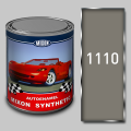 Алкидная автомобильная краска Mixon Synthetic, Серая 1110, 1 л