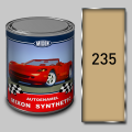 Алкидная автомобильная краска Mixon Synthetic, Бежевая 235 1л