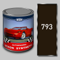Alkidny automobile Mixon Synthetic paint, Darkly brown 793, 1 l