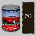 Алкидная автомобильная краска Mixon Synthetic, Темно коричневая 793, 1 л