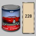 Алкидная автомобильная краска Mixon Synthetic, Чайная роза 228, 1 л