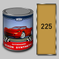 Alkidny automobile Mixon Synthetic paint, Yellow 225, 1 l
