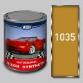 Алкидная автомобильная краска Mixon Synthetic, Желтая 1035, 1 л