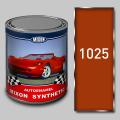 Алкидная автомобильная краска Mixon Synthetic, Оранжевая 1025, 1 л