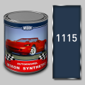 Alkidny automobile Mixon Synthetic paint, Blue 1115, 1 l