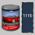 Алкидная автомобильная краска Mixon Synthetic, Синяя 1115, 1 л