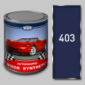 Алкидная автомобильная краска Mixon Synthetic, Монте Карло 403, 1 л