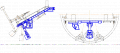 Машина погрузочная гидравлическая МПГ предназначена для погрузки разрушенной породы в скипа, при проходке наклонных тоннелей блокоукладчиками типа БНТ