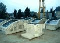 Комплект форм для изготовления высокоточных бетонных блоков - кольца водонепроницаемой сборной тоннельной обделки.