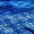Ткань Гипюр ( голубой ) 449