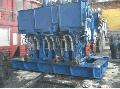 МАШИНА тянуще- правильна встановлена в 3- х струмковій радіальній машині безперервного лиття заготовок і для витягування заготовки (розміром 100х100; 125х125; 150х150) із кристаллизатора з одночасним випрямленням дугоподібної заготовки