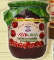 Fruit jam sterilized and unsterilized: strawberry, apricot, cherry, currant