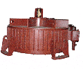 Electric motors explosion-proof vertical BACO2-75-24 series, 75 kW, 250ob, 380B,660B
