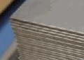 Corrosion-proof rolled sheet of an austenitic class