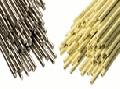 Твердые припои ПМЦ-42, ПМЦ-47, ПМЦ-53, ПСР-10, ПСР-12, ПСР-25, ПСР-45, ПСР-65, ПСР-70 создают высокую прочность шва. Они имеют предел прочности при растяжении выше 100 МПа.