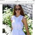 Белое женское платье прошва