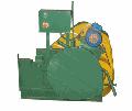 Станок РАМА 40 для резки арматурной круглой, квадратной и полосовой стали с пределом прочности 500 МПа (50 кгс/мм2).