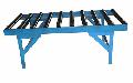Рольганг Р -12 для облегчения перемешения и разворотов листов 2,5х1600 мм; 4,0х2000 мм; и 6,3х2000 мм. при подаче их в зону реза ножниц.