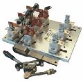 Рубильники під запобіжники для захисту й неавтоматичної комутації силових електричних кіл змінного струму в обладнаннях розподілу електричної енергії.